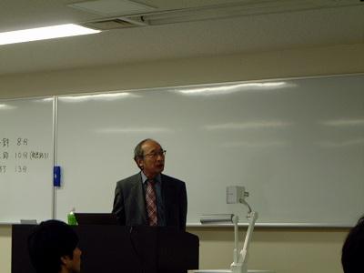 田端先生による特別講演